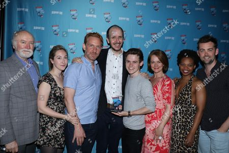 Stock Image of Edward James Hyland, Jessie Fisher, Paul Thornley, Sam Clemmett, Polly Miller, Alex Price, Harry Potter and the Cursed Child cast