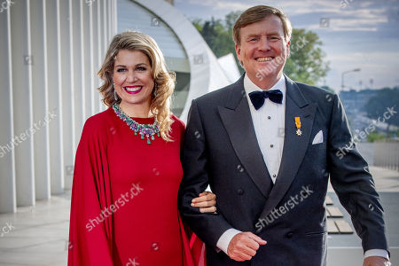 Dutch royals visit to Luxembourg, Day 2