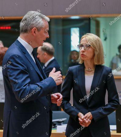 Bruno Le Maire and Teresa Czerwinska