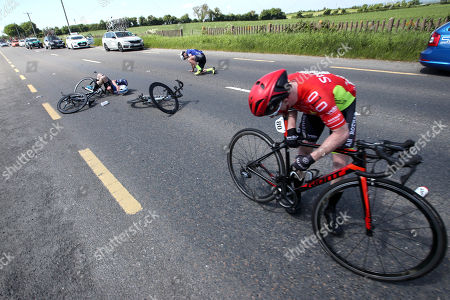 Editorial picture of 2018 Ras Tailteann, Stage 6, Mitchelstown To Carlow  - 25 May 2018