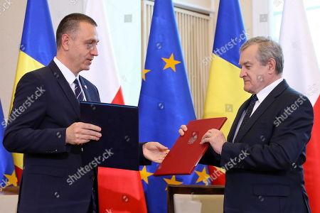 Piotr Glinski and Mihai-Viorel Fifor