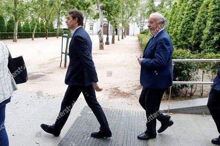 Editorial photo of Proceedings against former Royal Spanish Soccer Federation President Angel Maria Villar, Madrid, Spain - 25 May 2018