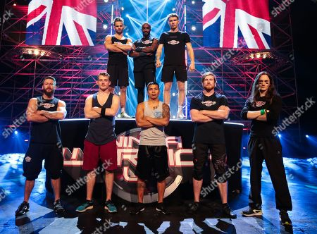Editorial image of 'Ninja Warrior UK' TV Show, Series 4, Final, Episode 8 UK  - 02 Jun 2018