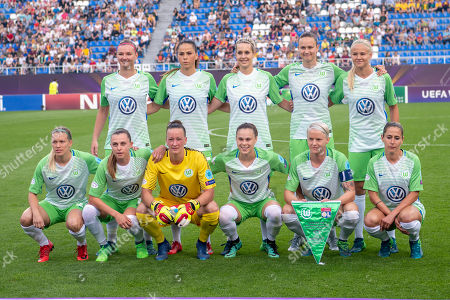 Editorial photo of VFL Wolfsburg v Olympique Lyonnais, UEFA Women's Champions League Final, Valeriy Lobanovskyi Stadium , Kiev, Ukraine - 24 May 2018