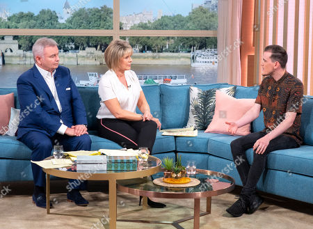 Eamonn Holmes and Ruth Langsford with George Sampson