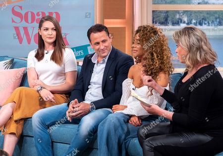 Anna Passey, Nick Pickard, Chelsee Healey and Sharon Marshall