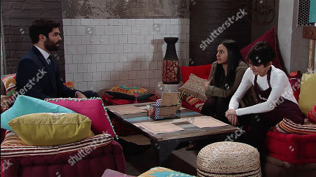 Ep 9477 Friday 8th June 2018 - 2nd Ep Imran Habeeb, as played by Charlie De Melo, reveals to Alya Nazir, as played by Sair Khan, that Karl Hyde is hers. How will Alya react?