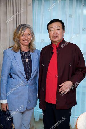 Anita Zabludowicz and Chanchai Ruayrungruang