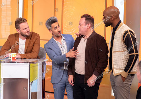 Queer Eye for the Straight Guy - Tan France, Antoni Porowski, Karamo Brown and Bobby Berk with Shaun Williamson
