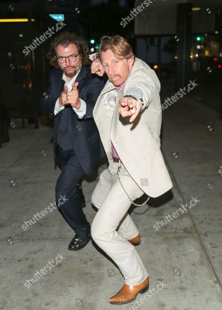 Stock Photo of Christian Meoli and Lew Temple