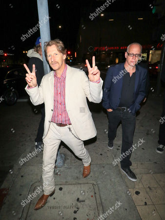 Lew Temple and Mark Young