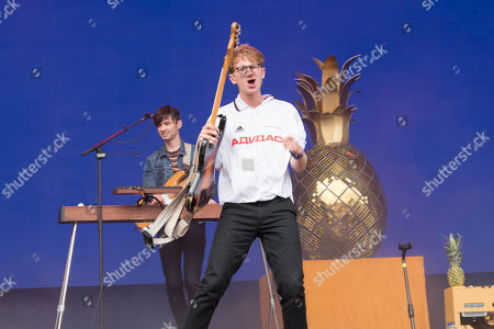Dave Bayley of Glass Animals