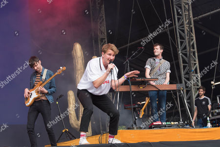 Stock Picture of Dave Bayley of Glass Animals