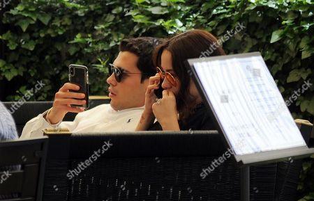 Aurora Ramazzotti and boyfriend Goffredo