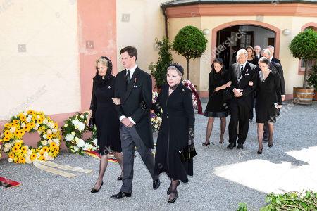 Funeral of Duke Friedrich of Wuerttemberg, Altshausen Castle