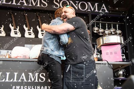 Shaun White, Duff Goldman. Shaun White, left, and Duff Goldman seen at the Bottle Rock Napa Valley Music Festival at Napa Valley Expo, in Napa, Calif