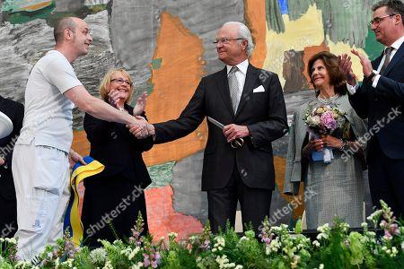 Swedish Royals attend inauguration of Karolinska University Hospital