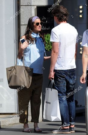Riccardo Montolivo and Cristina De Pin
