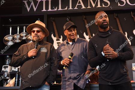 George Lopez, Ronnie Lott, Charles Woodson