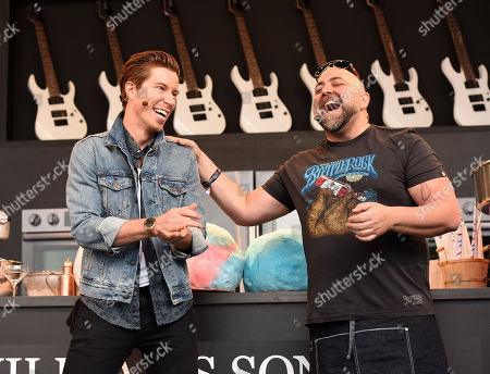 Duff Goldman and Shaun White