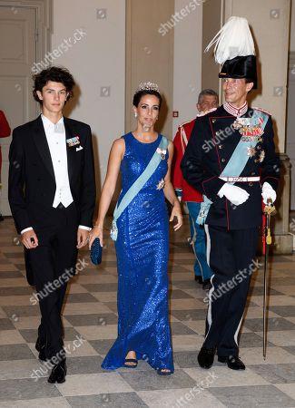Prince Nikolai Princess Marie Prince Joachim