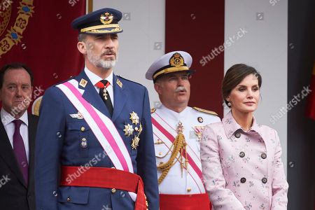 Spanish Royals attend Armed Forces Day, Logrono