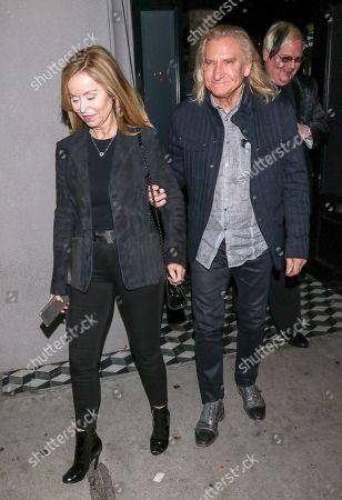 Marjorie Bach and Joe Walsh outside Craig's Restaurant