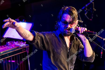 Shooter Jennings performs at Country Music Hall of Fame