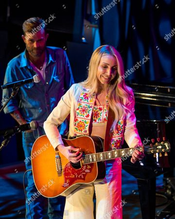 Stock Image of Waylon Payne and Ashley Monroe perform at Country Music Hall of Fame