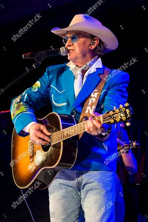Stock Picture of Gary P. Nunn performs at Country Music Hall of Fame