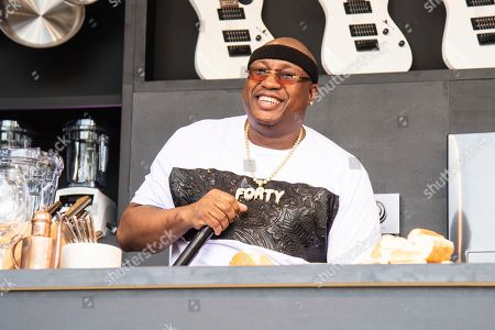 E-40 seen at the Williams Sonoma Culinary stage at the Bottle Rock Napa Valley Music Festival at Napa Valley Expo, in Napa, Calif