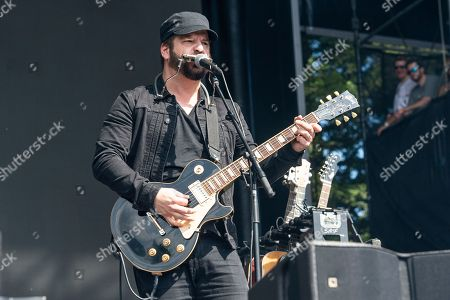 Chris Vos of The Record Company performs at the Bottle Rock Napa Valley Music Festival at Napa Valley Expo, in Napa, Calif