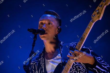 Stock Picture of Oliver Sim, The XX