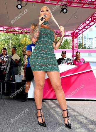 Amber Rose hosts 'Memorial Day Weekend at Go Pool Dayclub', Las Vegas