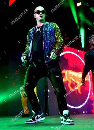 J. Balvin in concert at Mexico City Arena