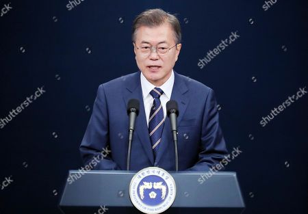 President Moon Jae-In press conference, Seoul
