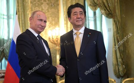 Japanese Prime Minister Shinzo Abe visit to Russia