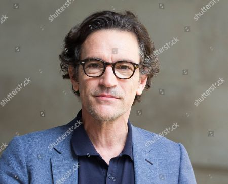 Actor, Ben Chaplin, leaves the BBC studios after having appeared on 'The Andrew Marr Show'.