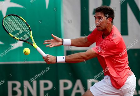 Editorial photo of French Open tennis tournament at Roland Garros, Paris, France - 27 May 2018