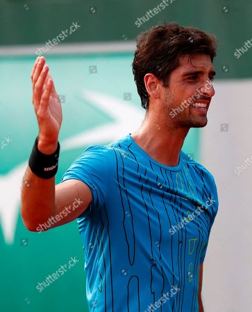 Editorial image of French Open tennis tournament at Roland Garros, Paris, France - 27 May 2018