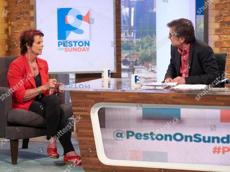 Anne Milton MP and Robert Peston