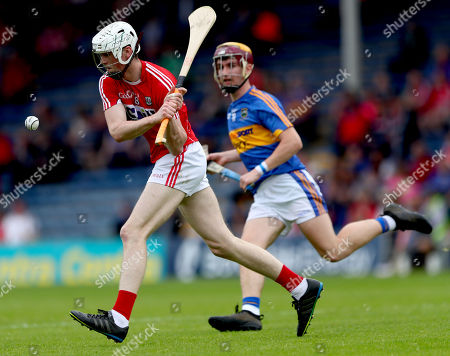 Tipperary vs Cork. Cork's Paul Cooney and Jack Morrissey of Tipperary