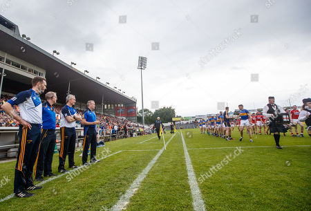 Tipperary vs Cork. Tipperary selectors' Declan Fanning, Conor Stakelum, manager Michael Ryan and selector John Madden