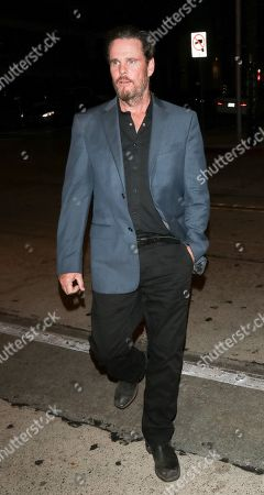 Kevin Dillion out and about, Los Angeles