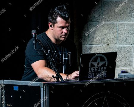 Nashville, Tenn., based DJ, Dee Jay Silver performs between sets at the Xfinity Center, in Mansfield, Mass., during Jason Aldean's High Noon Neon Tour