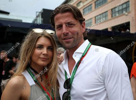 Stock Photo of 27.05.2018, Monaco Circuit, Monte Carlo, FORMULA 1 GRAND PRIX DE MONACO 2018, 24. - 27.05.2018  Roman Weidenfeller and wife