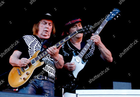 Stock Image of Slade - Dave Hill, Mal McNulty