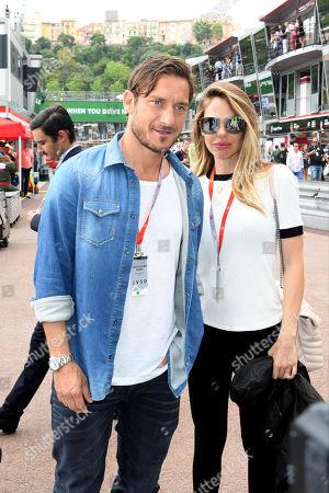 Francesco Totti and Ilary Blasi