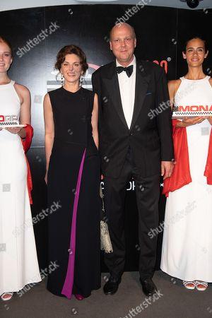 Former F1 driver, Jacky Ickx and Khadja Nin