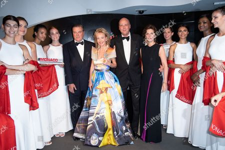 Editorial image of ACM Dinner Gala, Formula 1 Grand Prix of Monaco - 27 May 2018